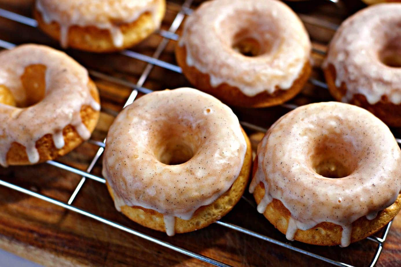 Mad Creations Baked Keto Donut with glaze