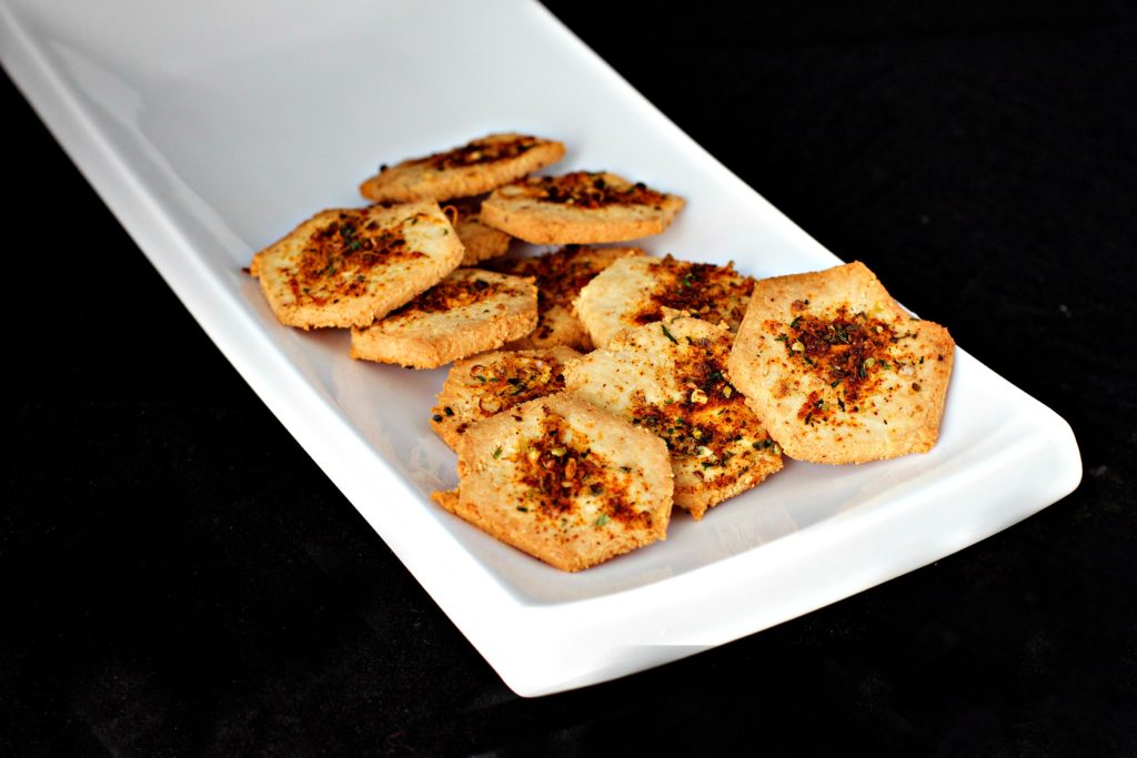 Keto Barbecue Shapes Crackers