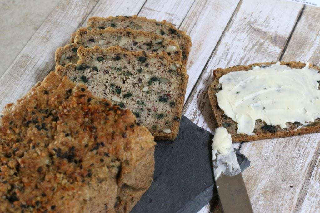 Mad Creations Best Keto Breads Hemp Seedy Bread