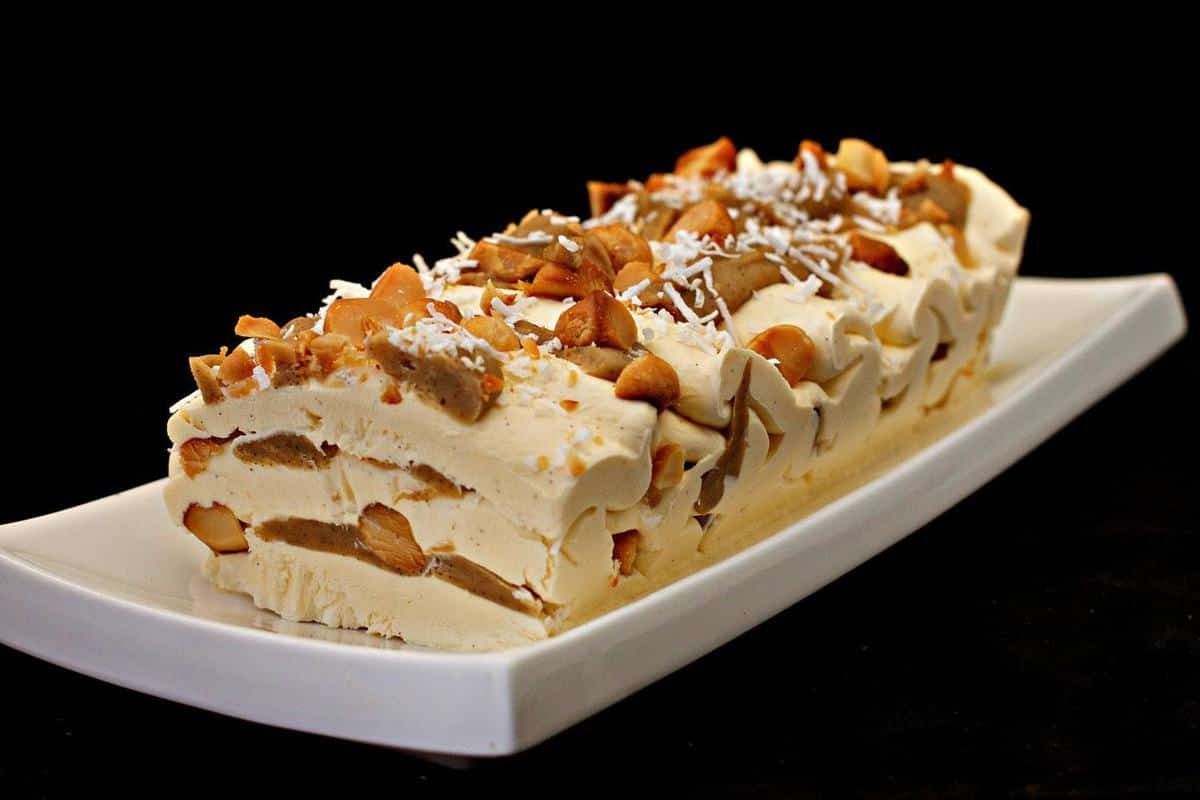 Anzac Viennetta Icebox Keto Cheesecake