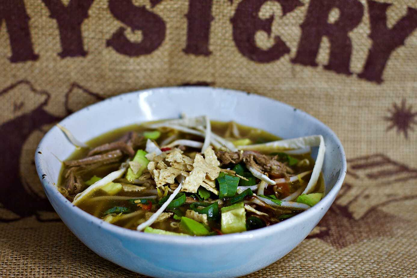 Fragrant Mexican Keto Pho – A perfect fusion