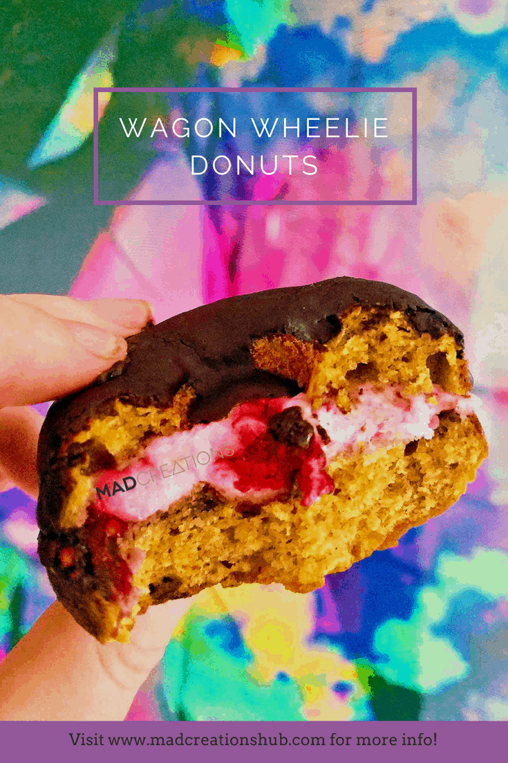 Mad Creations Wagon Wheelie Keto Donuts