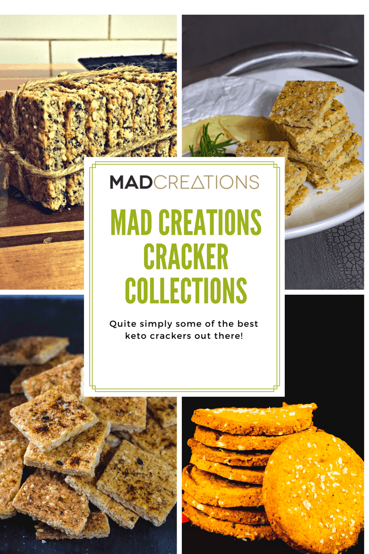 Mad Creations Keto Crackers Collection