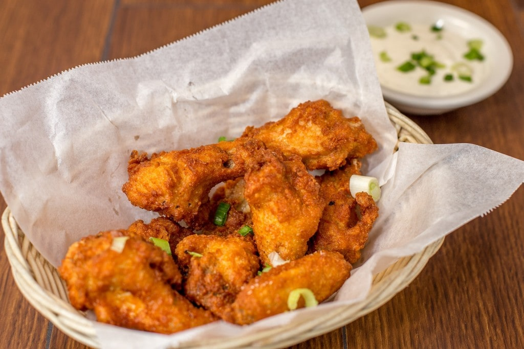 Mad Creations Buffalo Blue Cheese Dressing Sticky Vietnamese Keto Chicken Wings