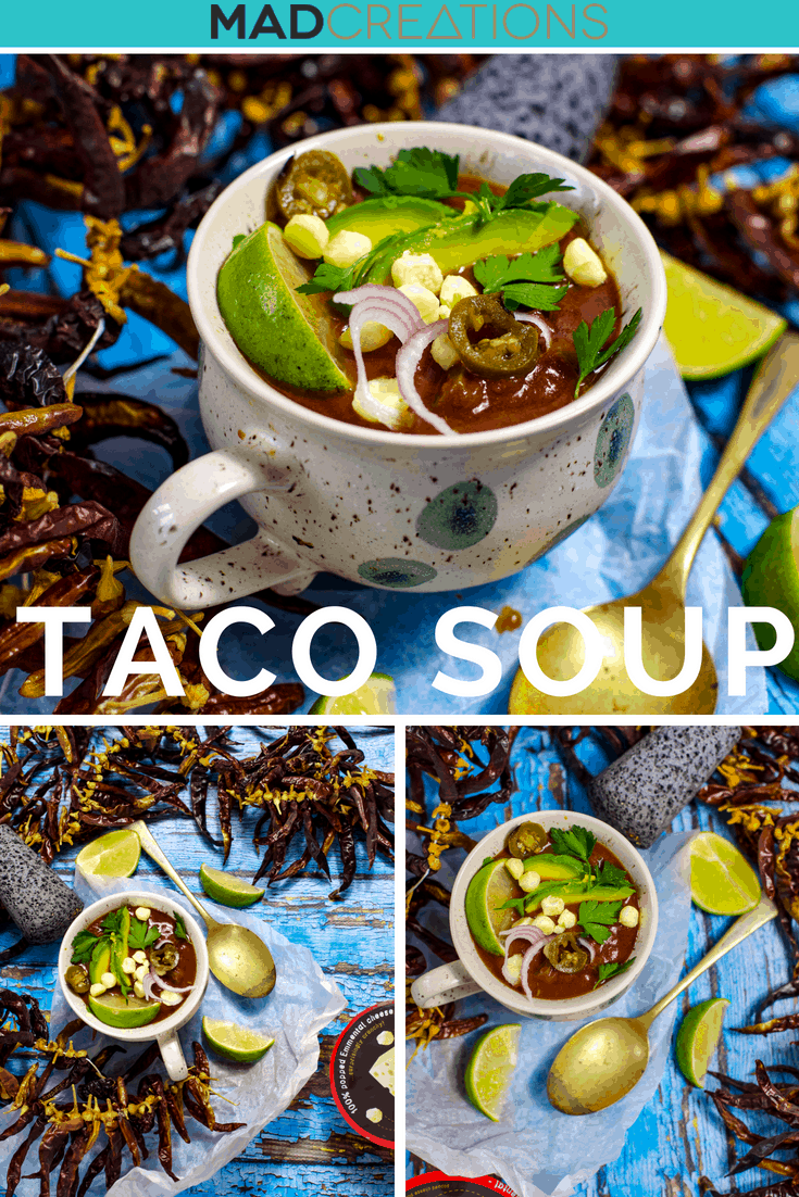 Chicken Taco Keto Soup