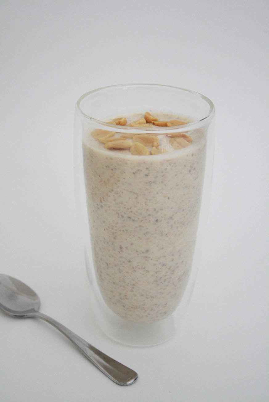 Mad Creations Peanut Butter Chia Pudding #chiapudding #jessshoolbread
