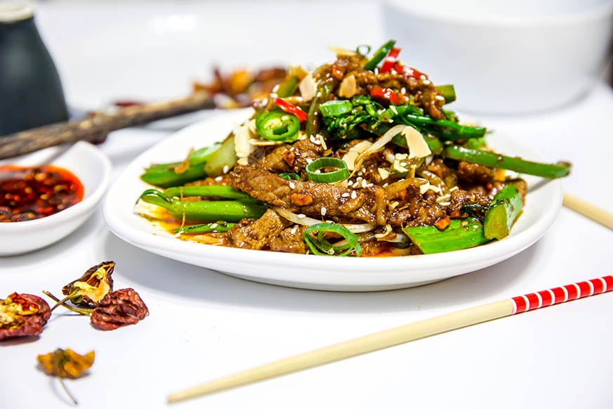 Mad Creations Keto Sichuan Beef #grainfree #Thermomix #ketogenicdiet #lowcarb #glutenfree #GF #KetoChinese