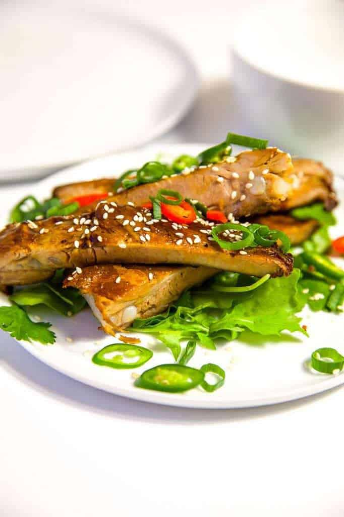 Mad Creations Sticky Asian Ribs #ketorecipe