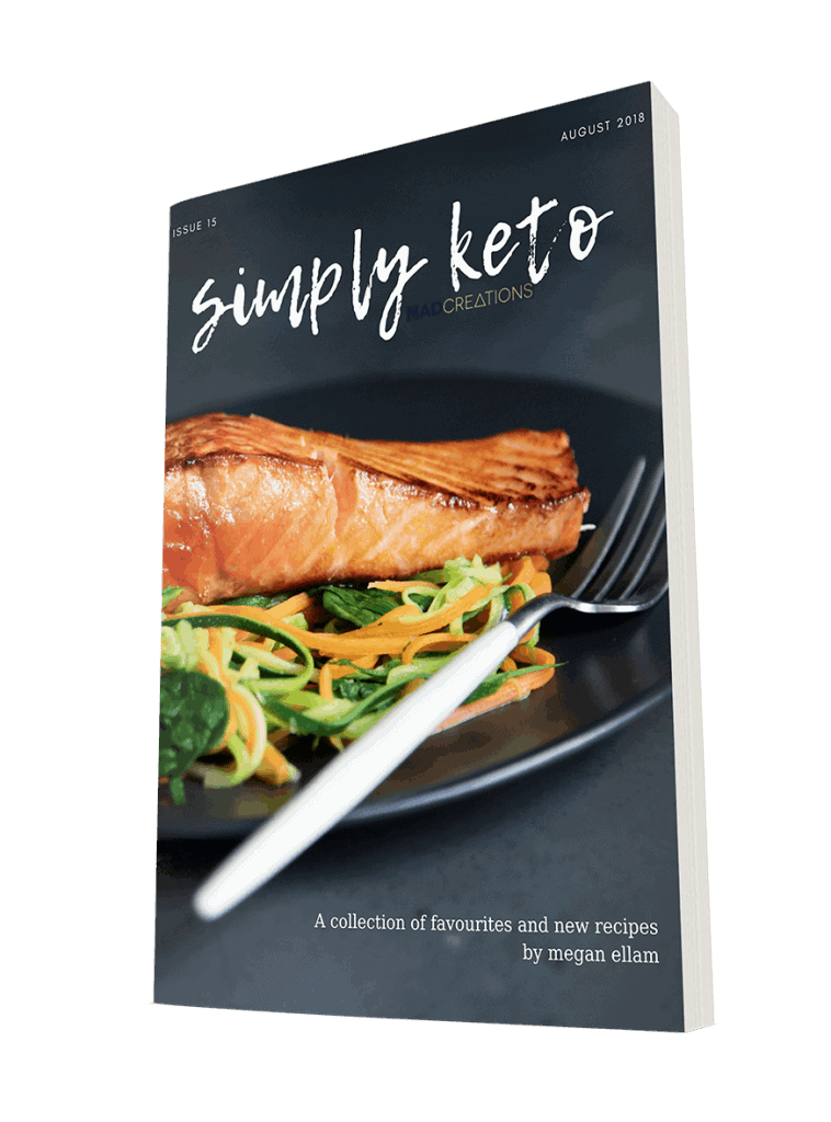 Mad Creations Simply Keto eBook