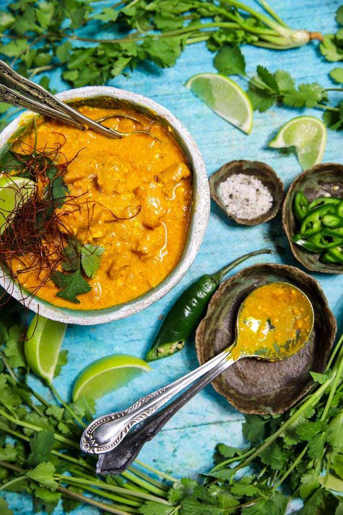 Mad Creations Saffron Chicken Korma #glutenfree #grainfree #ketodiet_
