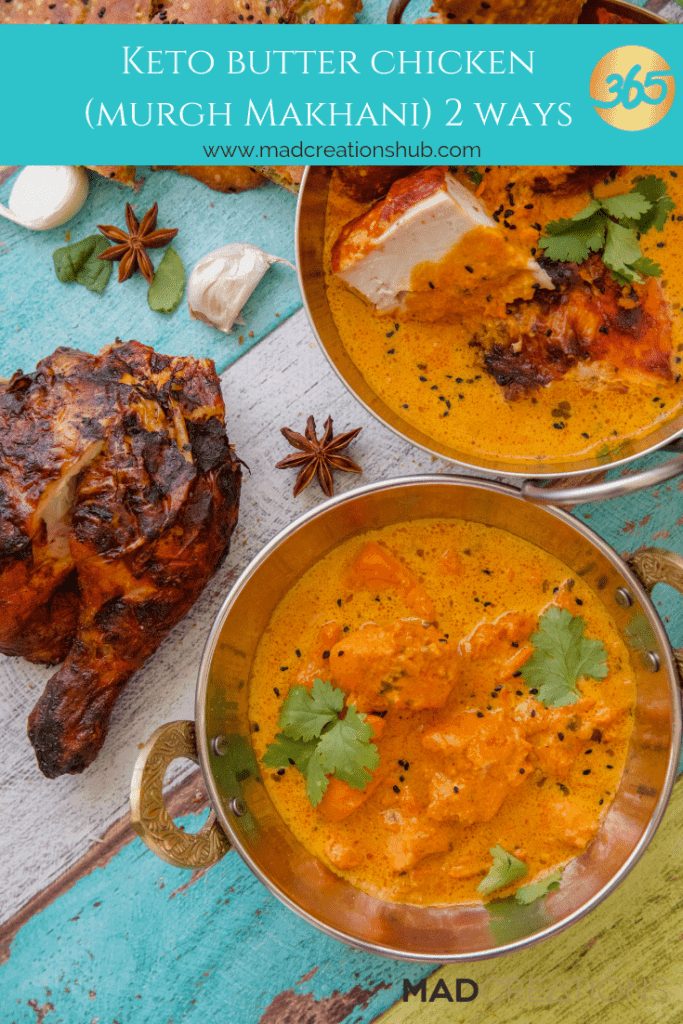 Mad Creations Keto Butter Chicken - 2 Ways
