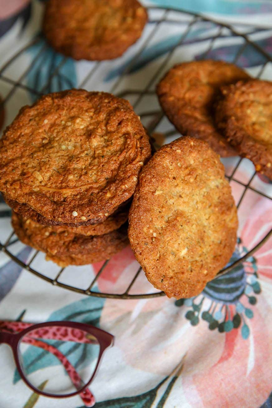 Mad Creations Keto Anzac Biscuits
