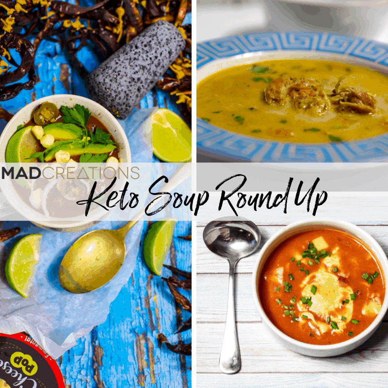 Keto Soup Recipes Roundup