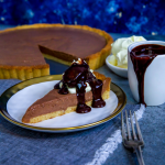 Keto Chocolate Bavarian Pie
