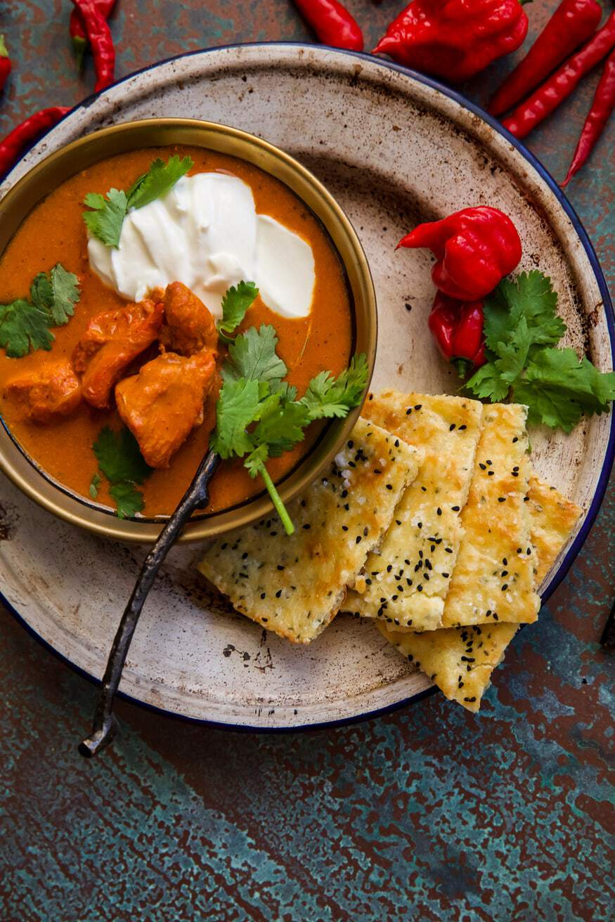 Chicken Tikka with Hemp Naan