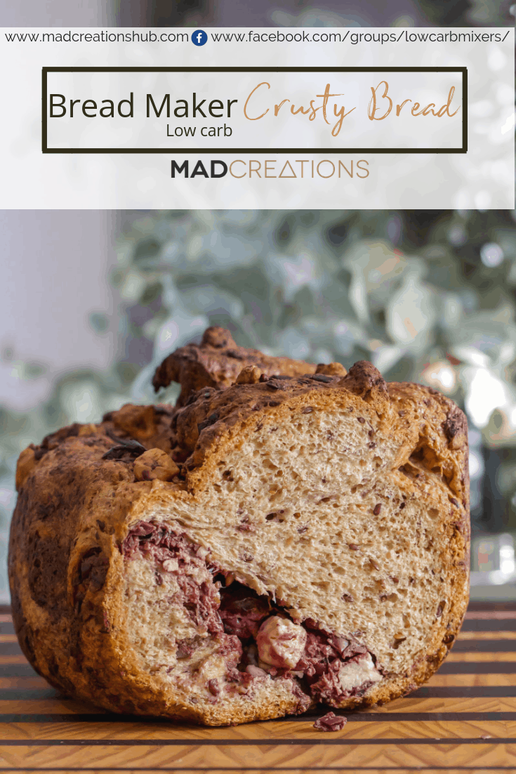 Bread Maker Low Carb Bread | Mad Creations Hub