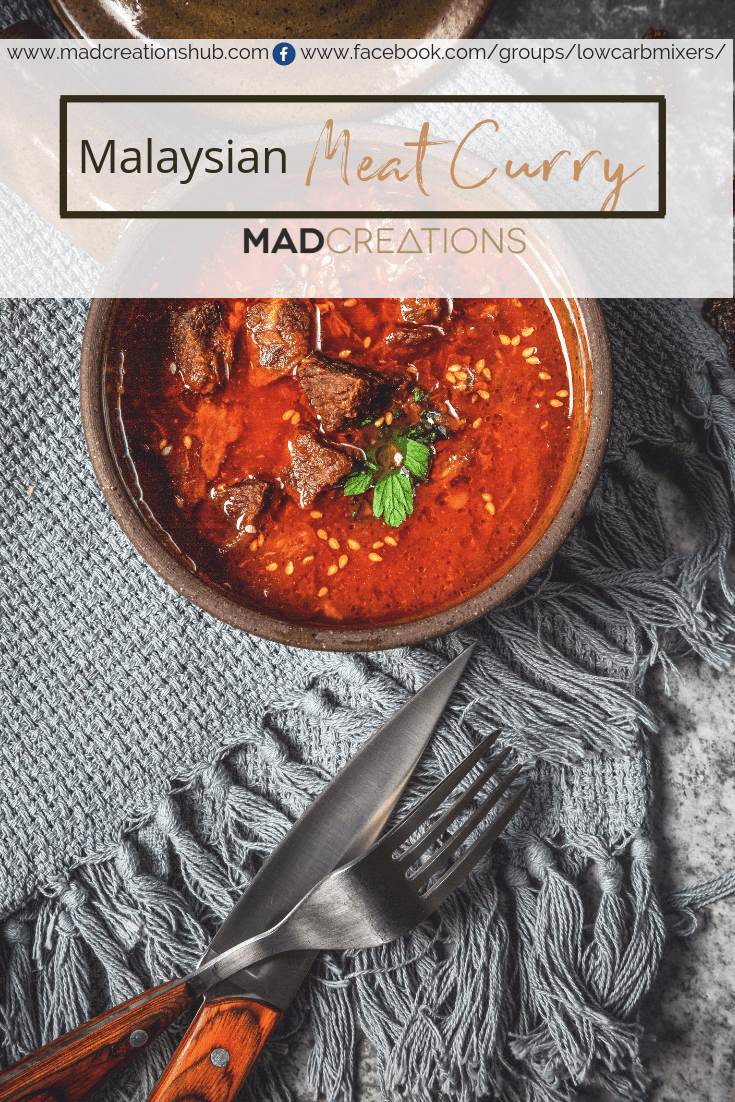 Mad Creations Malaysian Meat Curry Powder