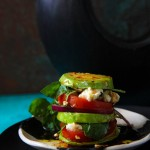 Avocado and Feta Stack